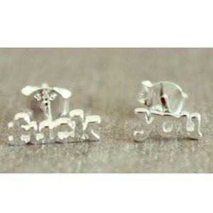 ▪️Fuck You Earrings (Sterling Silver)▪️